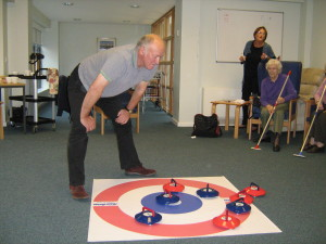 Indoor Curling at Primetime