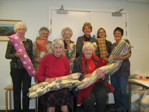 Craft Club made an amazing 17 draught excluders for people in need.