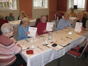 Lunch Club Clients finding out about the campaign